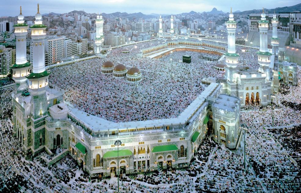 Islamische Heiligtümer: Die Stadt Mekka ist klar die Nummer 1. Wichtiger eiliger Ort ist die große Moschee. (#1)