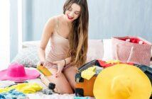 Koffer packen: Gut & effektiv (mit Checkliste)